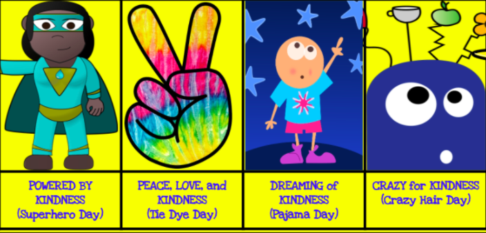 Pictures from Kindness Spirit Week