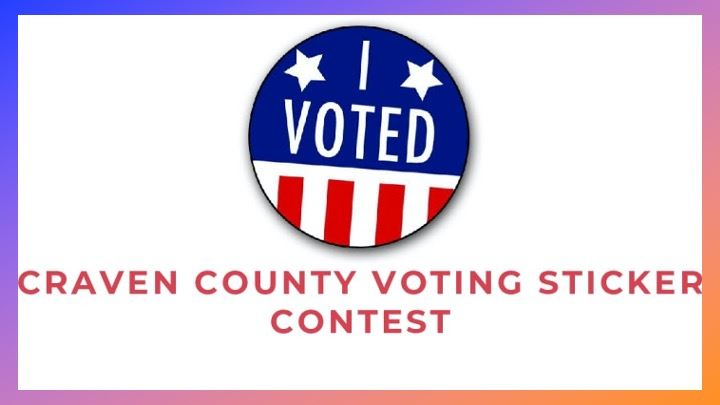 Craven County Voting Sticker Contest