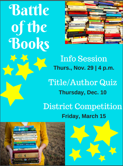 HJM Battle of the Books Information