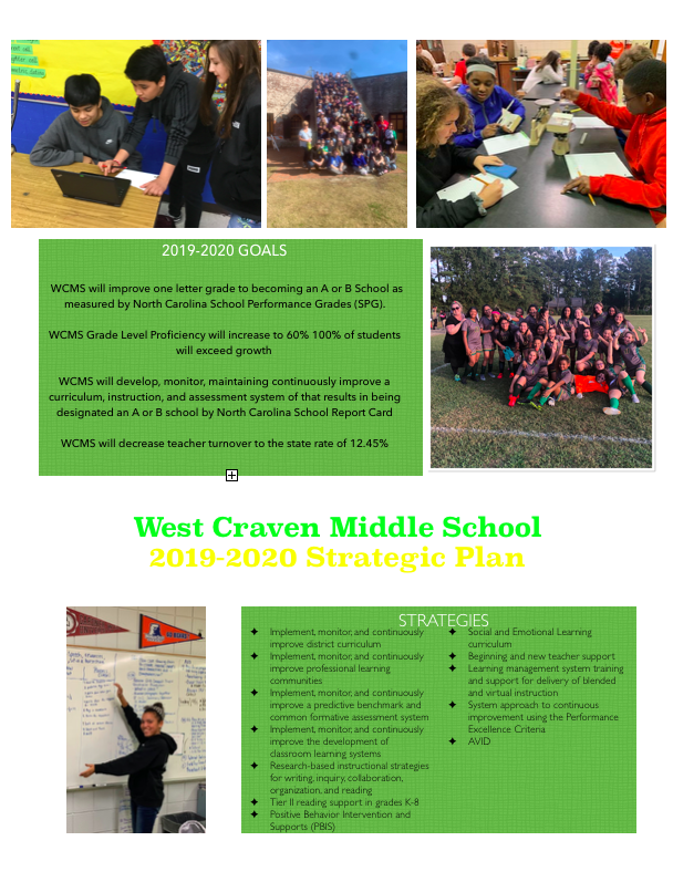 WCMS school Goals and Strategies